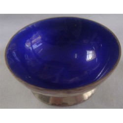 Mexico Sterling Enamel Bowl_210