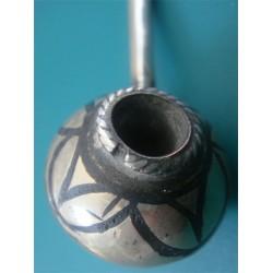 silver niello pipe_91