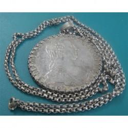 maria theresa coin silver NECKLACE_14