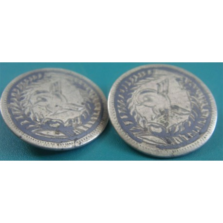 a pair of ottoman tugra enamel button object_223