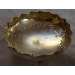 ANTIQUE HAND SAW SILVER BOWL_12
