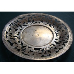 Hand Made Tea Plate_208