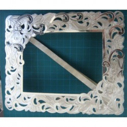 hand Made Silver Picture Frame_253